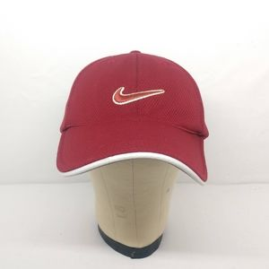 Nike Golf One Size OS Adjustable Red Mesh Hat